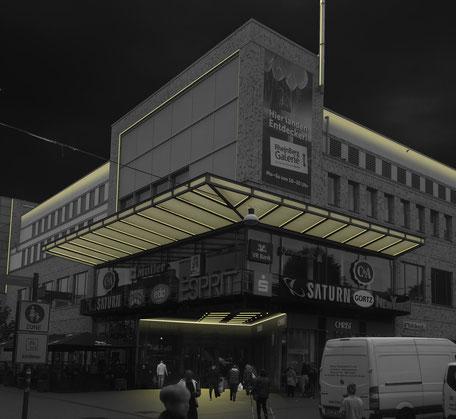 Flashaar Ingenieure Lichtberechnung mit Falschfarbendarstellung Hochschule Darmstadt, Büroräume