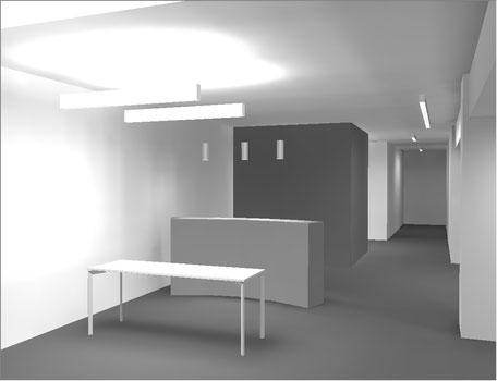 Flashaar Ingenieure Thüga Standorte Bürobeleuchtung Berechnung