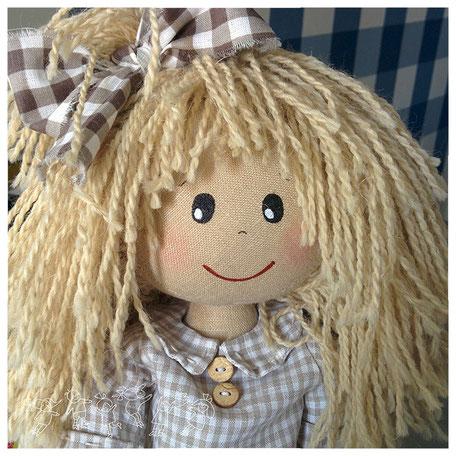 Нюша текстильная кукла ручной работы