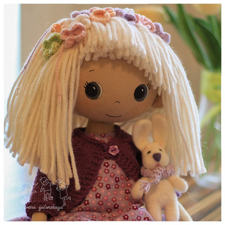 текстильная кукла Яночка