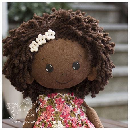 текстильная кукла Ния