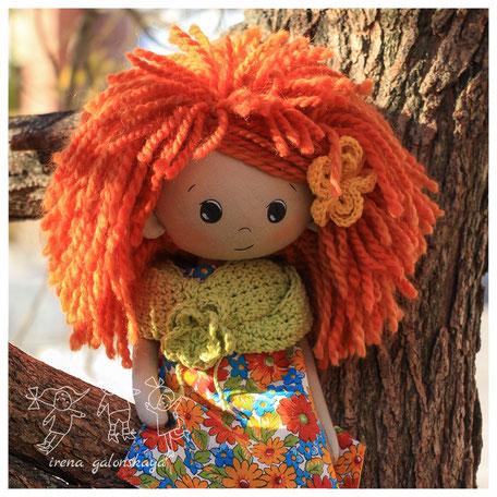 текстильная кукла Лола
