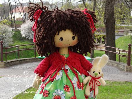текстильная кукла Софийка