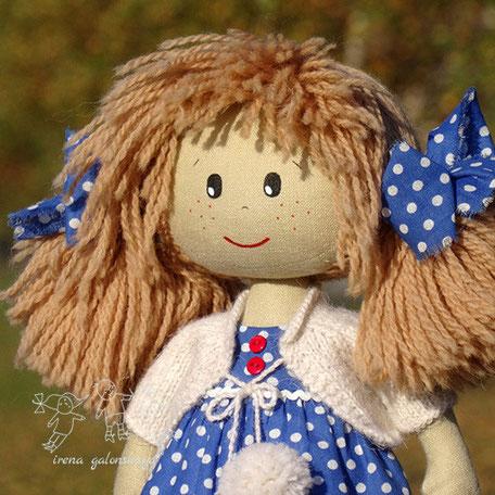текстильная кукла Василина