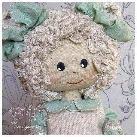 Майя текстильная кукла ручной работы