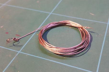 Winden-Stahlseil, beschichtet