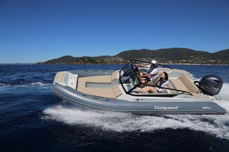 Capelli Yacht tender line - Tempest 460 YT
