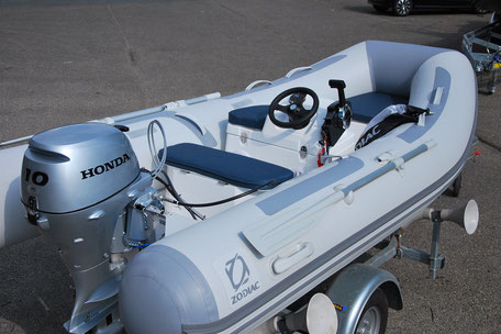 Zodiac Cadet RIB 340 consoleset te koop for sale - Rubberboot Holland Aalsmeer