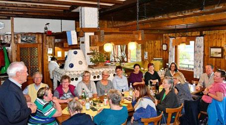 Helferfest zum Nudelsonntag / Foto: Kurt Glückler