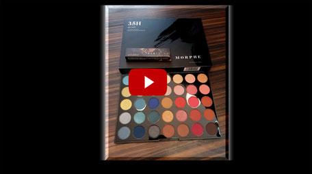 Joel Time: Morphe 35H Eyeshadow / Lidschatten Palette - Vorstellung und Test