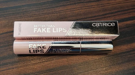 Joel Time: Catrice better than fake lips Lippenprimer im Test. Taugt das was?