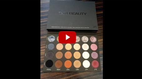 Joel Time: Tati Beauty Pressed Powder Lidschatten / Eyeshadow Palette Vol1