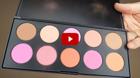 Joel Time: Test BH-Cosmetics Lidschatten, Rouge und Highlighter Paletten