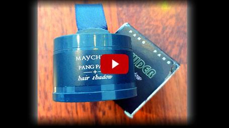 Joel Time: Haarpuder von Wish im Test - für sehr feinen oder dünnen Haaransatz