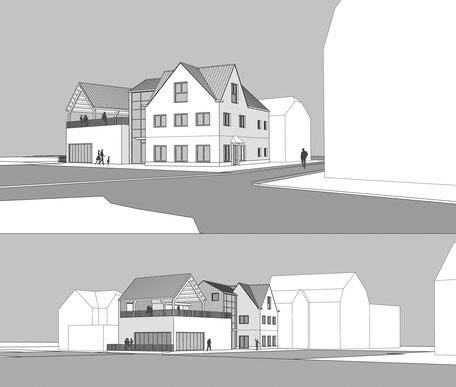 Stadthaus mit Veranstaltungraum