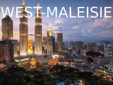 De bruisende stad Kuala Lumpur in West-Maleisie