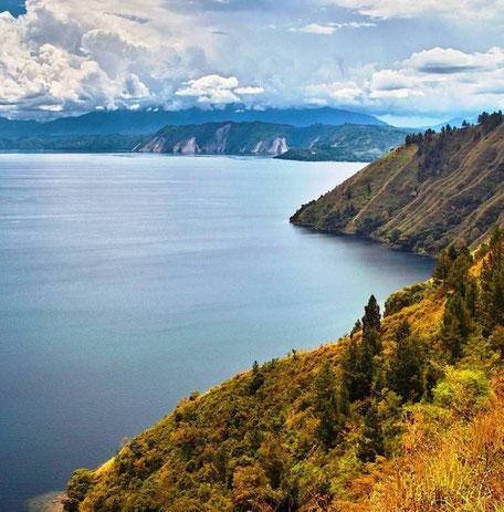 Prachtige landschappen op Sumatra