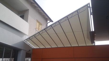 Sonnensegel Dach