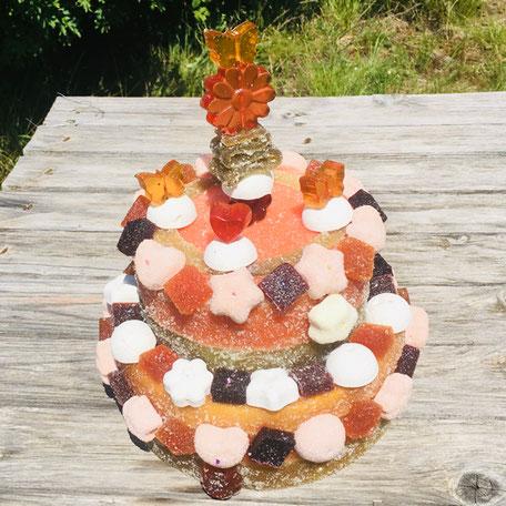 Anniversaire Chloé gâteau  bonbons tiffanie et ses bonbons