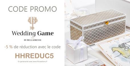 Code promo Wedding GAME