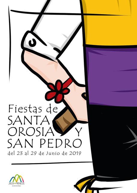 Cartel Fiestas Jaca 2019