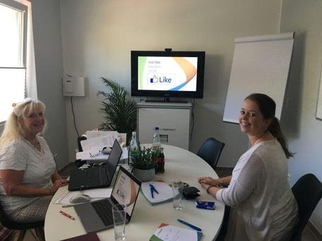 Kreatives Meeting mit BE und CO