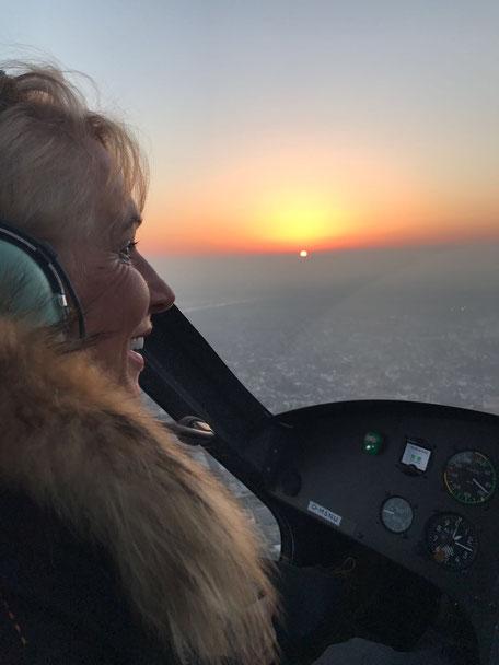 Pilotenlizenz Heike Lamadé