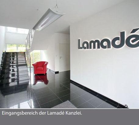 Rechtsanwälte Lamadé Kanzleigebäude