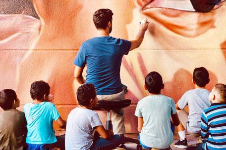couleurs d'origine quimper finistère graffiti street art