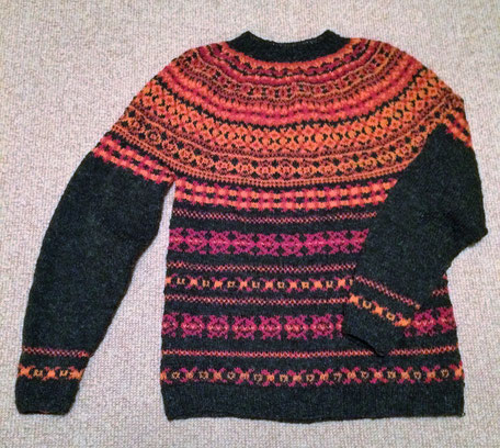 Pullover Fair Isle Technik