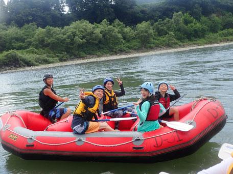 2021年08月05日AM信濃川ラフティングツアー写真プレビュー【日本アウトドアサービス】