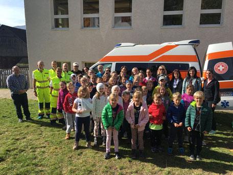 Erste-Hilfe-Kurs mit Kühebacher Pepi