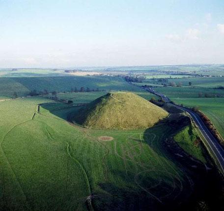 Silbury Hill Angleterre