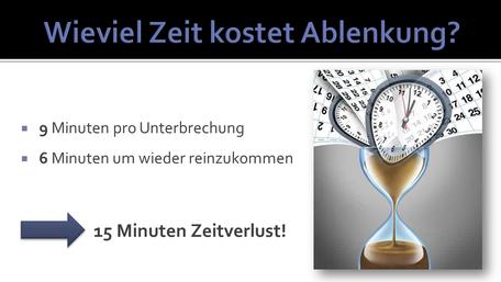 Ablenkungen bei Mitarbeitern vermeiden. Seminar und Training Tobias Uhl Hochrhein, Wiesental, Lörrach, Waldshut, Basel, Aaargau und Zürich