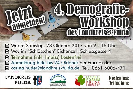 4.Demografie-Workshop des Landkreises Fulda