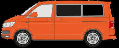 Kleinbus - Preis zur Scheibentönung