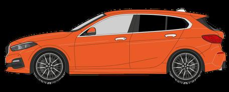 5-Scheiben Fahrzeug - Preis zur Scheibentönung