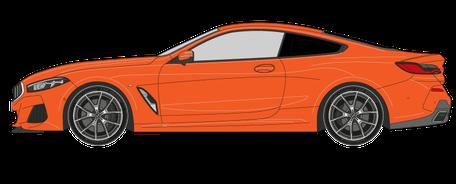 Scheiben tönen Coupe Auto - Preis zur Scheibentönung
