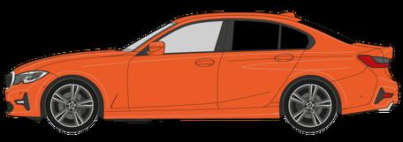 5-Scheiben Limousinen Fahrzeug - Preis Scheiben tönen