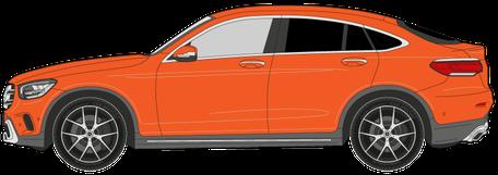 SUV / Geländefahrzeug / Kleintransporter - Preise zur Scheibentönung