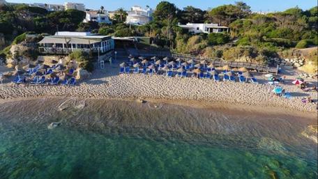 Restaurante in Praia do Lourenço,Galé,Albufeira,Algarve,Portugal