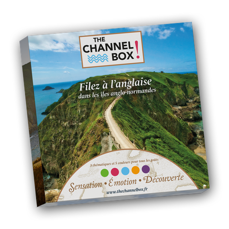Channel box coffret cadeau jersey guernesey