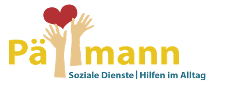 """Konzeption und Gestaltung eines Logos für """"Pällmann, Soziale Dienste"""" von Funkenflug Design Münster."""