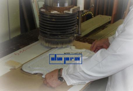 Tagliere su disegno in HDPE