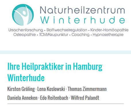 Naturheilzentrum Winterhude – Ihre Heilpraktiker in Hamburg