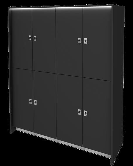 Garderobenschrank für Fitnessstudio