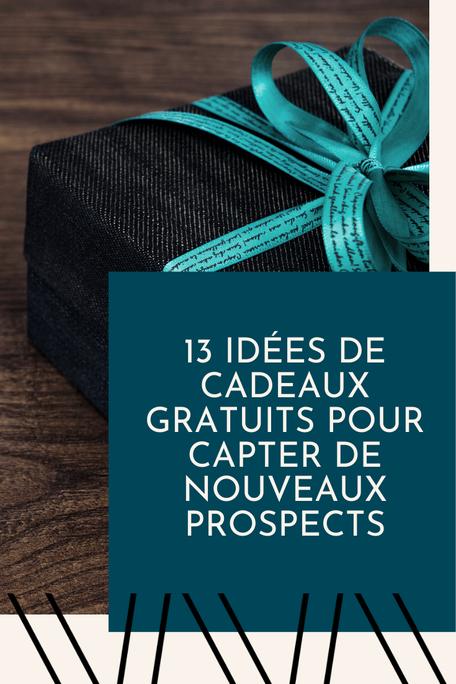 Idées de cadeau gratuit / lead magnet