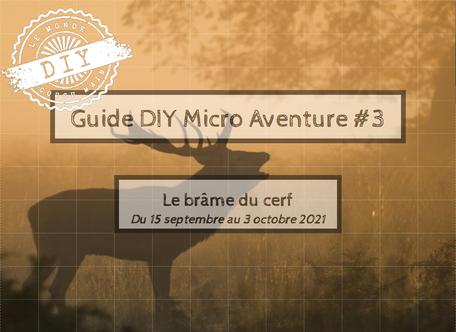 Guide micro-aventure- Brâme du cerf