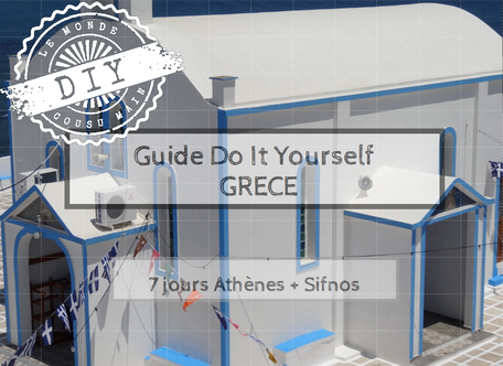 Guide voyage-Do It yourself-Athènes-Sifnos