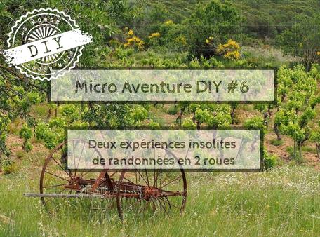 Guide Micro-aventure- deux roues insolites